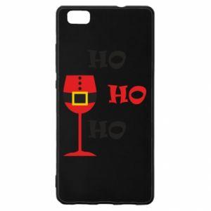 Huawei P8 Lite Case HO HO HO Santa