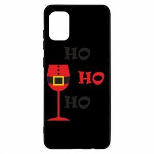 Etui na Samsung A31 HO HO HO Santa