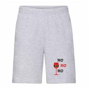 Men's shorts HO HO HO Santa