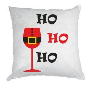Pillow HO HO HO Santa