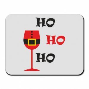 Mouse pad HO HO HO Santa