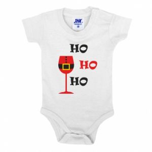 Baby bodysuit HO HO HO Santa