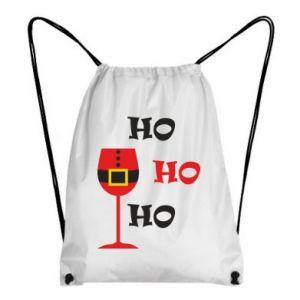 Backpack-bag HO HO HO Santa