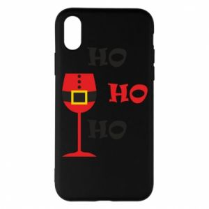 Phone case for iPhone X/Xs HO HO HO Santa