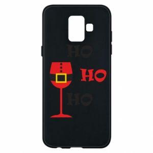 Phone case for Samsung A6 2018 HO HO HO Santa