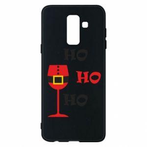 Phone case for Samsung A6+ 2018 HO HO HO Santa