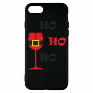 Phone case for iPhone 8 HO HO HO Santa
