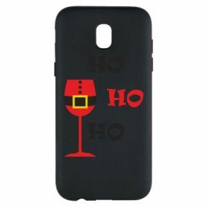Phone case for Samsung J5 2017 HO HO HO Santa