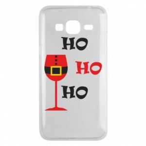 Phone case for Samsung J3 2016 HO HO HO Santa