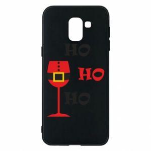 Phone case for Samsung J6 HO HO HO Santa