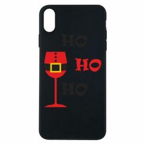 Phone case for iPhone Xs Max HO HO HO Santa