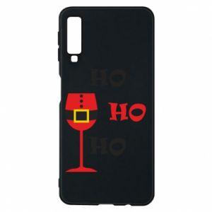 Phone case for Samsung A7 2018 HO HO HO Santa