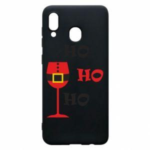 Phone case for Samsung A20 HO HO HO Santa