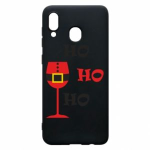 Phone case for Samsung A30 HO HO HO Santa