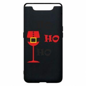 Phone case for Samsung A80 HO HO HO Santa