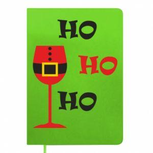Notepad HO HO HO Santa