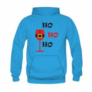 Kid's hoodie HO HO HO Santa