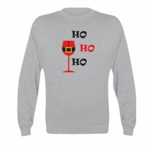 Kid's sweatshirt HO HO HO Santa