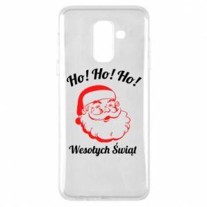 Etui na Samsung A6+ 2018 Ho Ho Ho Święty Mikołaj