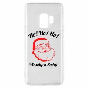 Etui na Samsung S9 Ho Ho Ho Święty Mikołaj