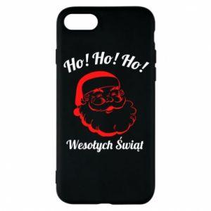 Etui na iPhone 8 Ho Ho Ho Święty Mikołaj