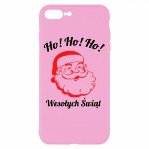 Etui na iPhone 8 Plus Ho Ho Ho Święty Mikołaj