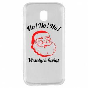 Etui na Samsung J3 2017 Ho Ho Ho Święty Mikołaj