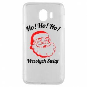 Etui na Samsung J4 Ho Ho Ho Święty Mikołaj