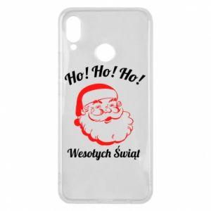 Etui na Huawei P Smart Plus Ho Ho Ho Święty Mikołaj