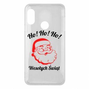 Etui na Mi A2 Lite Ho Ho Ho Święty Mikołaj