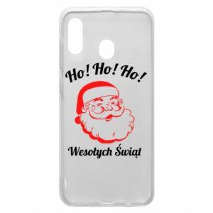 Etui na Samsung A30 Ho Ho Ho Święty Mikołaj
