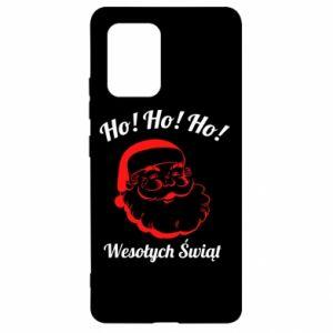 Etui na Samsung S10 Lite Ho Ho Ho Święty Mikołaj