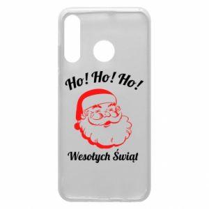 Etui na Huawei P30 Lite Ho Ho Ho Święty Mikołaj
