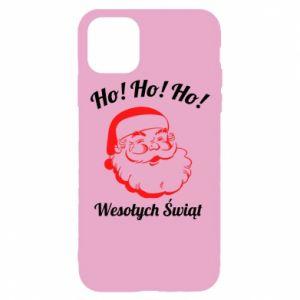 Etui na iPhone 11 Pro Ho Ho Ho Święty Mikołaj