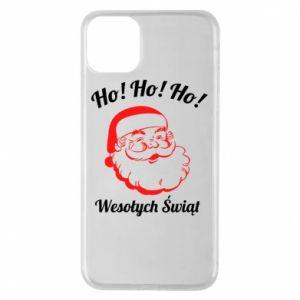 Etui na iPhone 11 Pro Max Ho Ho Ho Święty Mikołaj