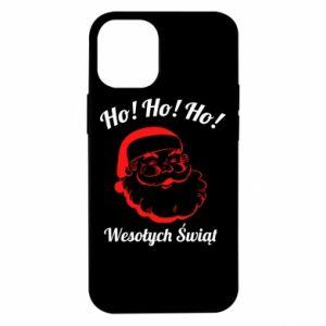 Etui na iPhone 12 Mini Ho Ho Ho Święty Mikołaj