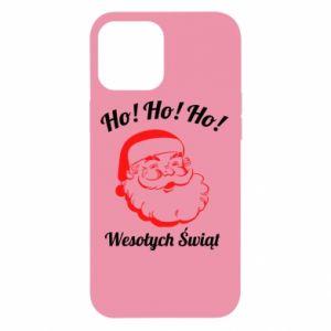 Etui na iPhone 12 Pro Max Ho Ho Ho Święty Mikołaj