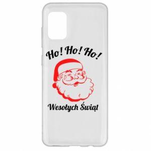 Etui na Samsung A31 Ho Ho Ho Święty Mikołaj