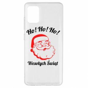 Etui na Samsung A51 Ho Ho Ho Święty Mikołaj