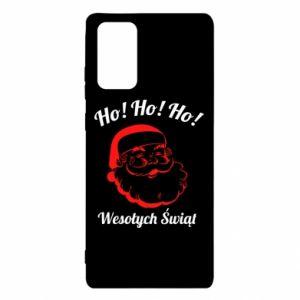 Etui na Samsung Note 20 Ho Ho Ho Święty Mikołaj