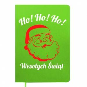 Notes Ho Ho Ho Święty Mikołaj