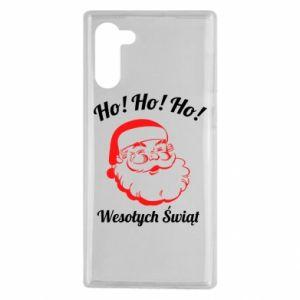 Etui na Samsung Note 10 Ho Ho Ho Święty Mikołaj