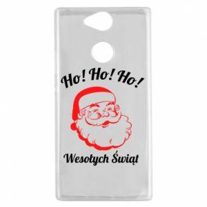 Etui na Sony Xperia XA2 Ho Ho Ho Święty Mikołaj
