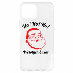 Etui na iPhone 12/12 Pro Ho Ho Ho Święty Mikołaj