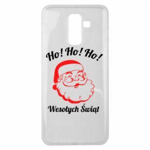 Etui na Samsung J8 2018 Ho Ho Ho Święty Mikołaj