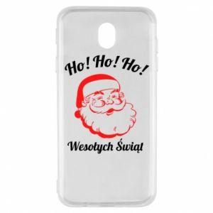 Etui na Samsung J7 2017 Ho Ho Ho Święty Mikołaj