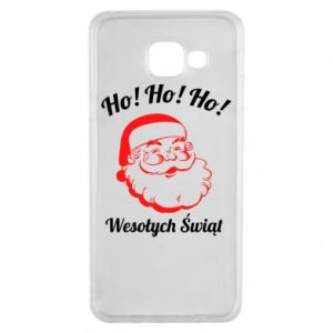 Etui na Samsung A3 2016 Ho Ho Ho Święty Mikołaj