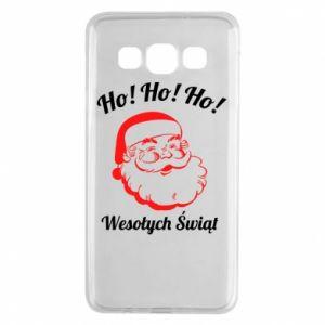 Etui na Samsung A3 2015 Ho Ho Ho Święty Mikołaj