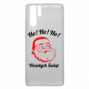 Etui na Huawei P30 Pro Ho Ho Ho Święty Mikołaj