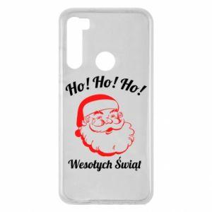 Etui na Xiaomi Redmi Note 8 Ho Ho Ho Święty Mikołaj
